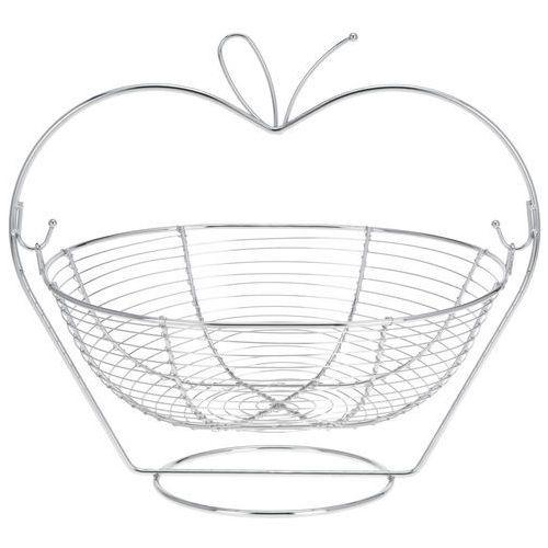 Eh excellent houseware Kosz na owoce apple - stal chromowana (8711295176760)