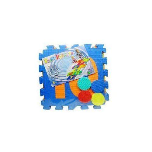 Puzzle podłogowe d100 gra w klasy cyfry (10 elementów) marki Swede