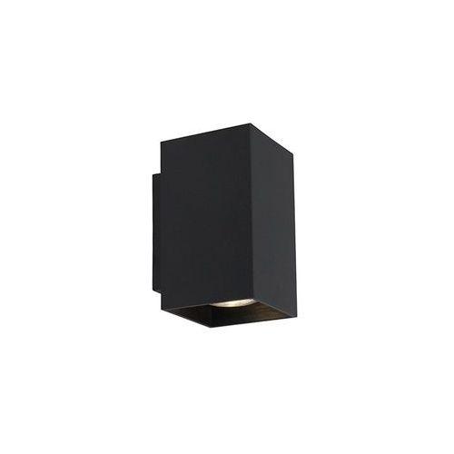 Kinkiet Zuma Line Sandy WL 92698 Square lampa oprawa ścienna 2x50W GU10 czarny >>> RABATUJEMY do 20% KAŻDE zamówienie!!! (2011005826487)