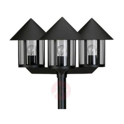 Albert leuchten Maszt oświetleniowy lampione 3-punktowy czarny (4007235620429)