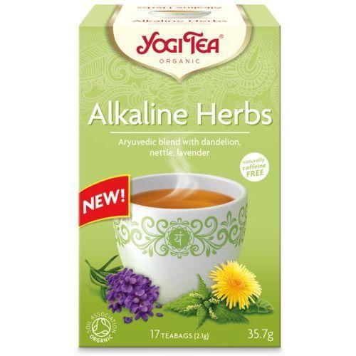 Yogi tea (herbatki) Herbatka zioła alkaliczne (mniszek, porzywa, lawenda) bio (17 x 2,1 g) 35,7 g - yogi tea (4012824404281)