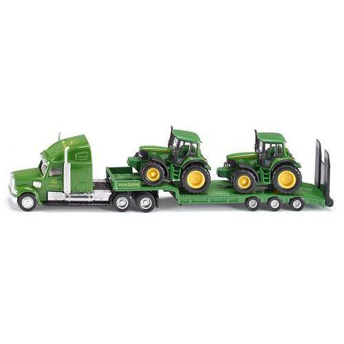 Siku  farmer - ciężarówka z naczepą + 2 traktory (4006874018376)
