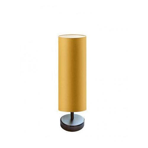 Lampka na stolik nocny SYDNEY czarny ze złotą folią, stal szczotkowana (+35 zł), 14587-7