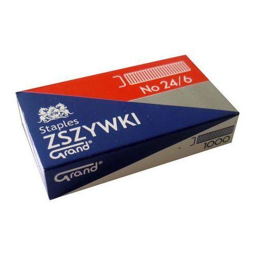 Zszywki 24/6 (1000szt*10) GRAND (5903364230227)