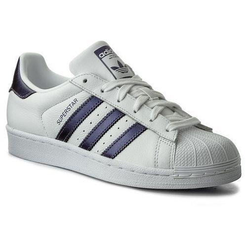 Buty adidas - Superstar CG5464 Ftwwht/Punime/Ftwwht, kolor biały