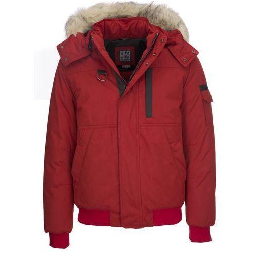 Geox kurtka męska 52 czerwony, kolor czerwony