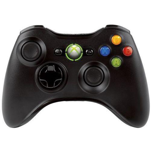 Kontroler MICROSOFT Xbox 360 Czarny, towar z kategorii: Gamepady
