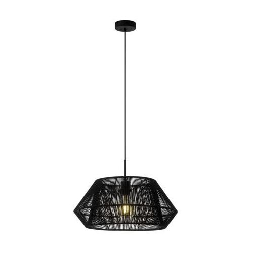 Eglo Lampa wisząca palmones 97912 sufitowa 1x60w e27 czarna (9002759979126)