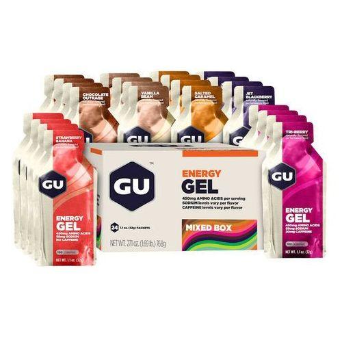 energy gel mix żywność energetyczna 24 x 32g kolorowy batony i żele energetyczne marki Gu energy