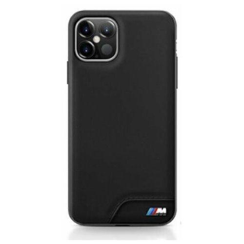 "Etui BMW BMHCP12LMHOLBK iPhone 12 6,7"" Pro Max czarny/black hardcase M Collection Smooth PU (3700740486061)"
