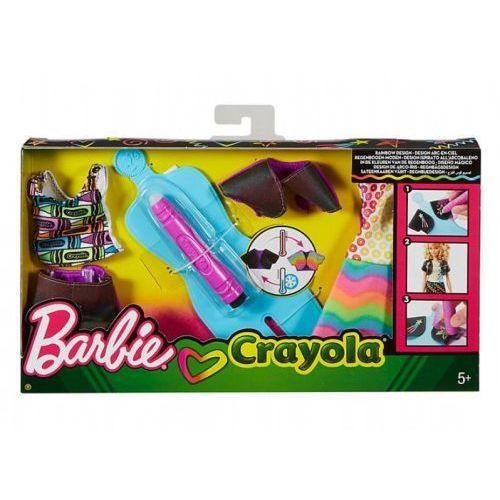 Mattel Barbie Rainbow Design zestaw FHW87