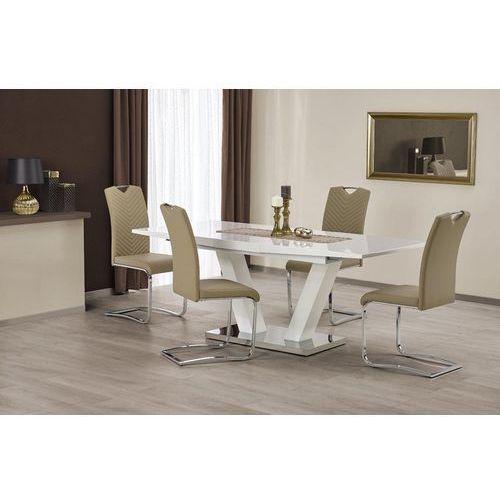 Halmar Stół vision na jednej nodze z lakierowanym blatem
