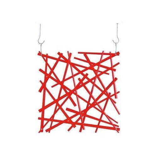 Koziol Panel dekoracyjny stixx - czerwony - czerwony
