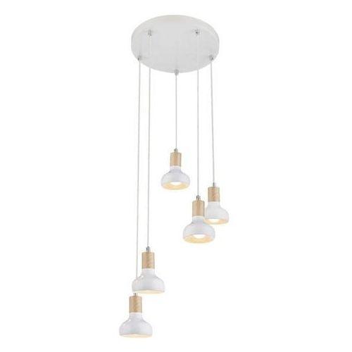 Lampa wisząca puerto 35-62772 5x40w e14 biała marki Candellux