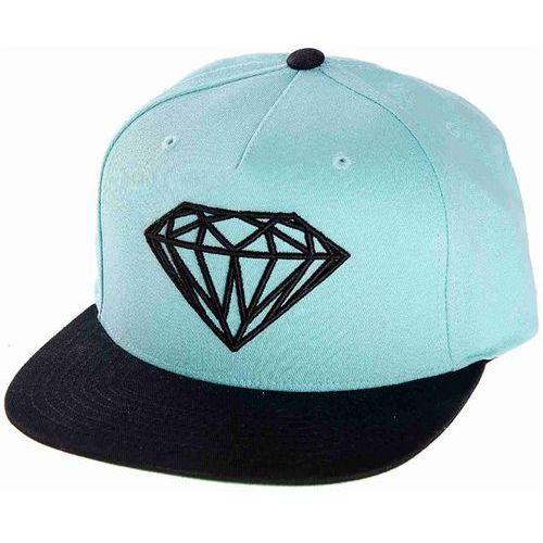 czapka z daszkiem DIAMOND - Brilliant Diamond Blue Dblu (DBLU) rozmiar: OS, kolor niebieski