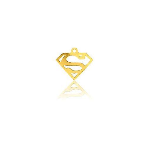 Zawieszka superman, złoto próby 585 marki 925.pl