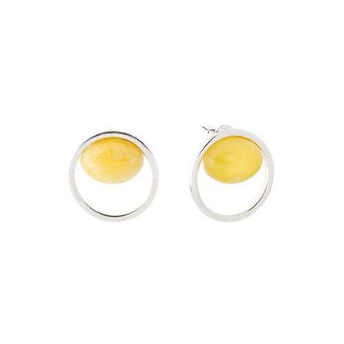 Kolczyki z bursztynu amber marki Bursztynlandia