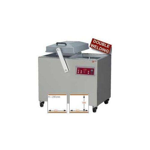 Pakowarka próżniowa | 2-komorowa | 2500w | 400-230/3n 50-60hz | 1075x890x(h)1040mm marki Diamond