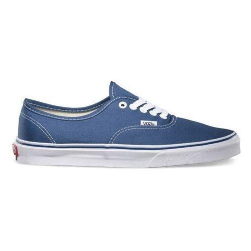 buty VANS - Authentic Navy (navy) rozmiar: 47, kolor niebieski