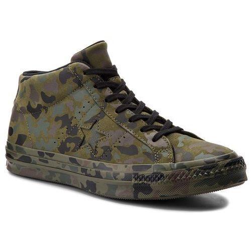Sneakersy CONVERSE - One Star Mid 159746C Herbal/Collard/Black