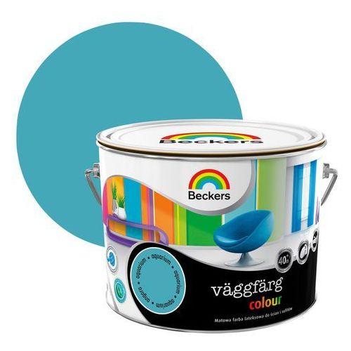 Beckers Farba lateksowa vaggfarg colour aquarium 2,5 l