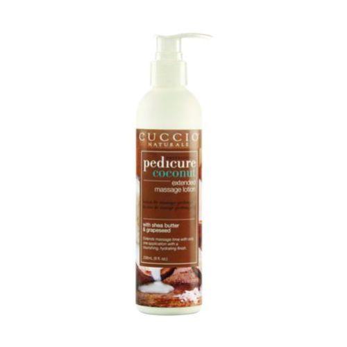Cuccio  coconut extended massage lotion kokosowy balsam odżywczy do masażu stóp