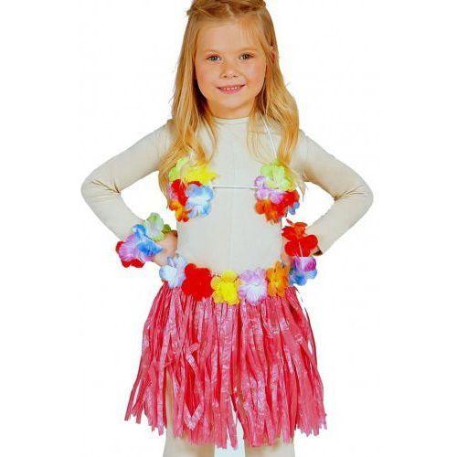 """Zestaw hawajski dla dziewczynki """"hawaii party"""" czerwony marki Party world"""