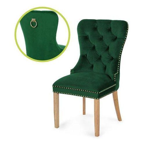 Atreve Krzesło madame ii gold zielony/dąb/ so260