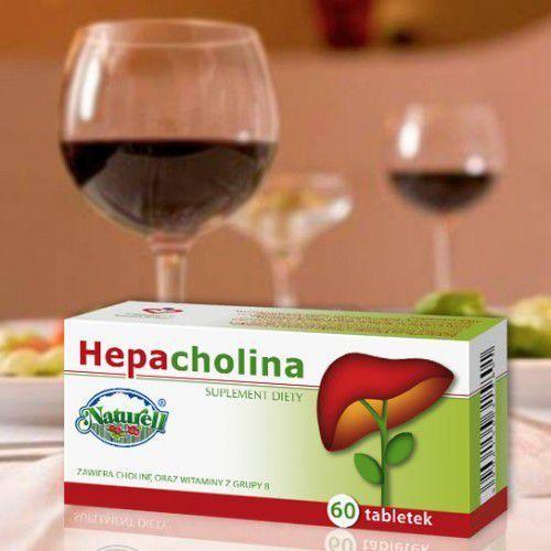 HEPACHOLINA 60 tabl - tabletki na wątrobę