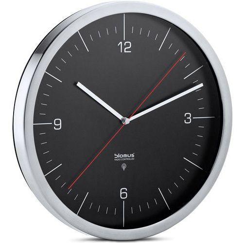 Blomus Zegar ścienny sterowany radiowo crono czarny