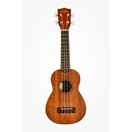 Kala mahagony ukulele sopranowe satin mahagony t/b/s, soprano bag (ub-s)