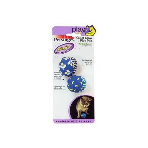 Petstages Subtelny piłek czar - fosforyzujące piłeczki 2szt PS385