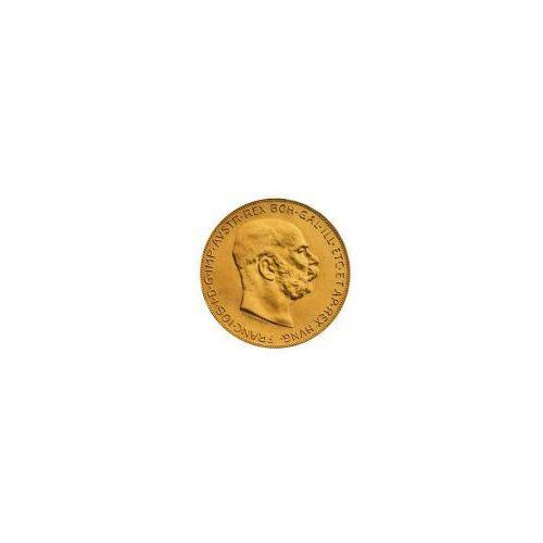 100 Złotych Koron Austriackich - Złota Moneta - Dostawa Natychmiastowa