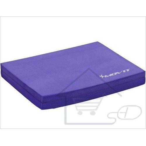 Fioletowa platforma do ćwiczeń równoważnych Balance Pad 48 x 38 x 5,8 cm