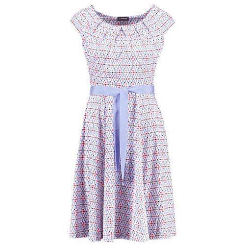 Sukienka z dżerseju slinky, kolor niebieski