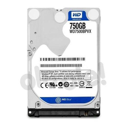 """WD WD7500BPVX Blue 750GB 2,5"""" - produkt w magazynie - szybka wysyłka!, WD7500BPVX"""