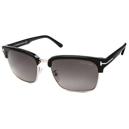 Okulary Słoneczne Tom Ford FT0367 RIVER Polarized 01D