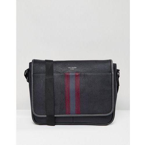 Ted Baker Messenger Bag Buzard in Black - Black