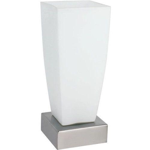 Paulmann Lampa stołowa jenni 77037, e14, 1 x 40 w, 230 v, (sxw) 10 cm x 22 cm, nikiel (satynowy), opal (4000870770375)