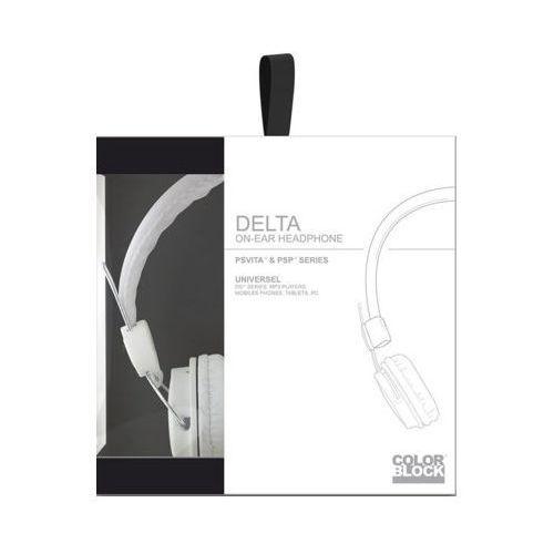 Akcesorium BIGBEN Zestaw słuchawkowy high-end Delta do PS Vita Biały ()