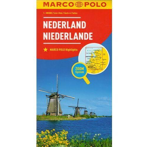 Marco Polo Mapa Samochodowa Holandia 1:300 000 Zoom, Marco Polo - OKAZJE