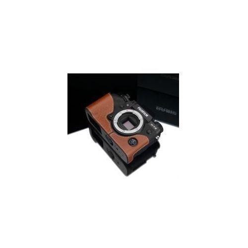 Halfcase z naturalnej skóry w kolorze beżowym dedykowany do Fuji Film X-T2, XS-CHXT2CM