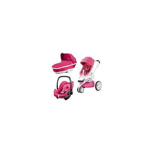 W�zek wielofunkcyjny 3w1 Moodd + Pebble GRATIS Quinny (Pink Passion), 63009231 76609230 76909230