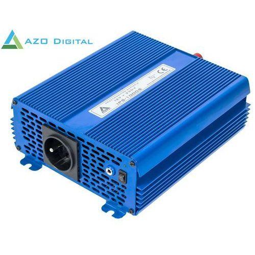 Przetwornica napięcia 12 vdc / 230 vac eco mode sinus ips-1000s 1000w marki Azo digital
