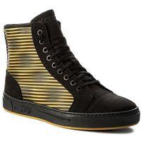 Sneakersy KAZAR - Leo 27416-26-A1 Czarny/Żółty