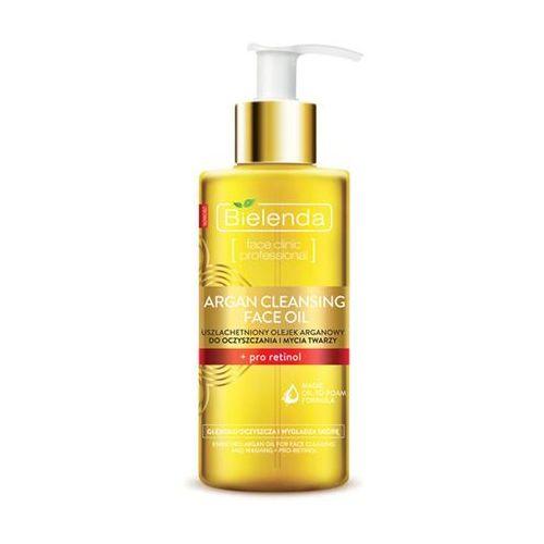 Bielenda  argan cleansing face oil olejek do mycia twarzy z pro-retinolem 140ml (5902169015916)
