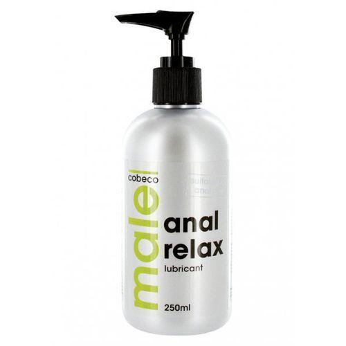 Cobeco Male Anal Relax Lubricant Preparat na bazie wody do nawilżania analnego 250ml - sprawdź w wybranym sklepie