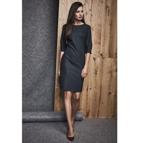 Granatowa sukienka - marki Ennywear