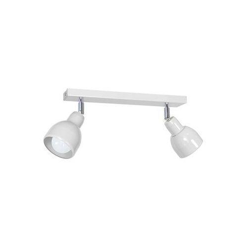 Oświetlenie punktowe pik 2xe27/60w/230v biały marki Decoland