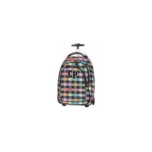 Coolpack plecak target 34l na kółkach pastel check marki Patio